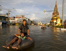 8) Why was Central Bangkok protected from the 2011 Floods?